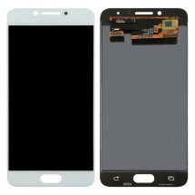 Pantalla LCD y táctil color blanco para Samsung Galaxy C5 Pro