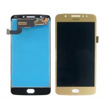 Pantalla LCD y táctil color dorado para Motorola Moto E4 XT1767 XT1768