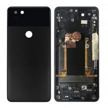 Carcasa tapa trasera color negro para Google Pixel 2