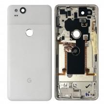 Carcasa tapa trasera color blanco para Google Pixel 2