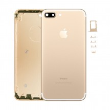 Carcasa tapa trasera color Dorado para iPhone 7 Plus