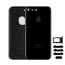 Carcasa tapa trasera color Negro para iPhone 7 Plus