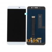 Pantalla LCD y táctil color blanco para ZTE Blade A910