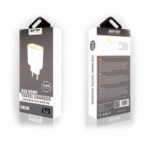 Cargador MicroUSB Bofon BF-TS11 2.4A color blanco