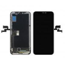 Pantalla completa LCD y táctil color negro para iPhone X