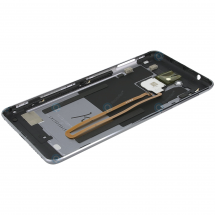 Tapa trasera con flex lector huella color gris para Huawei Enjoy 6S / Honor 6C / Nova Smart (swap)