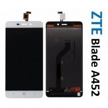 Pantalla completa LCD y tactil blanco para ZTE Blade A452