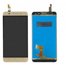 Pantalla LCD y táctil color dorado para Huawei Honor 4X