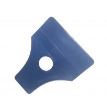 Espátula plastico resistente de anchura 98mm