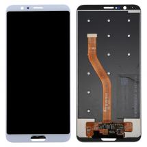 Pantalla LCD y táctil color blanco para Huawei Honor V10