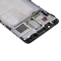 Pantalla LCD y táctil color negro Con Marco para Huawei Mate 9 Pro