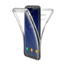 Funda Doble TPU Silicona Transparente 360 para Samsung Galaxy S8 Plus