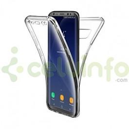 b4aad7433e4 Funda Doble TPU Silicona Transparente 360 para Samsung Galaxy S8 Plus