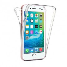 Funda Doble TPU Silicona Transparente 360 para iPhone 6 / 6S