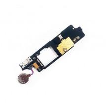 Módulo placa conector de carga, vibrador y micrófono para ZTE Nubia N1 Lite (swap)