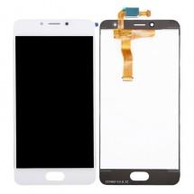 Pantalla LCD y táctil color blanco para Meizu A5