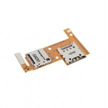 Flex Lector tarjeta SIM y MicroSD para LG K4 K120