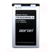Batería para Nokia N520 -N435 BL-5J  5800 1320mAh BOFON