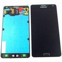 Pantalla completa LCD mas tactil color negro Samsung A7