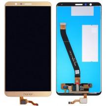Pantalla LCD y táctil color dorado para Huawei Honor 7X