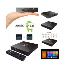 Android TV S905X Quad Core X96 True 4K - 2Gb / 16Gb