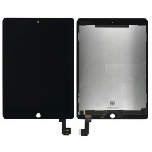 Pantalla compelta LCD y táctil color negro para iPad Air 2 A1566 A1567