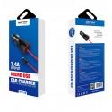 Cargador mechero coche y cable MicroUSB 5V 3.4A para móvil y tablet - Bofon BF-C120 color Negro