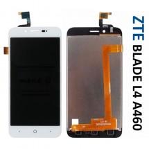 Pantalla completa LCD y táctil color blanco para ZTE Blade A460