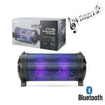 Altavoz Bluetooth Karaoke - 30W - Luces - USB - FM - Ref. FT769