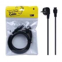 Cable de alimentación trebol 1.5M