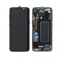 Pantalla LCD y táctil Con Marco para Samsung Galaxy S9+ S9 Plus G965F - elige color