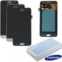Pantalla ORIGINAL Service Pack LCD mas táctil color silver para Samsung Galaxy J3 J320 (2016)