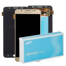 Pantalla ORIGINAL Service Pack LCD mas táctil color negro para Samsung Galaxy J7 2016 J710