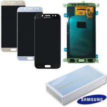 Pantalla ORIGINAL Service Pack LCD mas táctil color silver para Samsung Galaxy J5 J530F (2017)