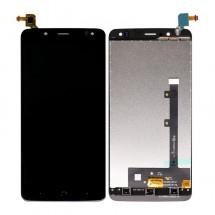 Pantalla LCD y táctil color negro para BQ Aquaria VS