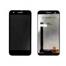 Pantalla LCD y táctil color negro para Vodafone Smart E8 (VFD-510)