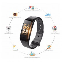 Pulsera Sport inteligente Smart Band Sport Bluetooth C1S - varios colores