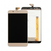 Pantalla LCD y táctil color dorado para Wiko UPulse U Pulse