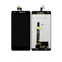 Pantalla LCD y táctil color negro para BQ M5.5 2017