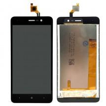 Pantalla LCD y táctil color negro o negro para Wiko Lenny 4 Plus - elige color