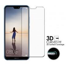 Protector Cristal Templado curvo 3D para Huawei P20 Lite 3D