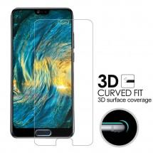 Protector Cristal Templado curvo 3D para Huawei P20 3D