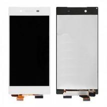 Pantalla LCD y táctil color blanco para Sony Xperia Z5 Premium E6853 E6883 E6833