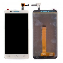 "Pantalla LCD y táctil color blanco para Alcatel Pixi 4 6"" 4G OT9001A OT9001X"