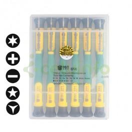 Set Destornilladores de Precisión 12 en 1 BST-666 para iPhone Samsung Huawei ZTE HTC y más