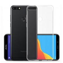 Funda TPU Silicona Transparente para Huawei Y7 2018