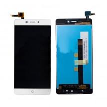 Pantalla LCD y táctil color blanco para ZTE Blade V580
