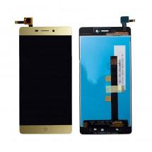 Pantalla LCD y táctil color dorado para ZTE Blade V580