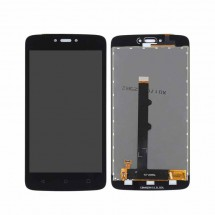 Pantalla LCD y táctil color negro para Motorola Moto C  XT1750