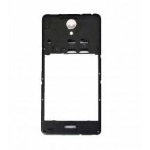 Carcasa intermedia trasera con cristal cámara para Xiaomi Redmi 2